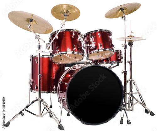 Leinwanddruck Bild Schlagzeug