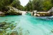 Flußlandschaft im Socatal