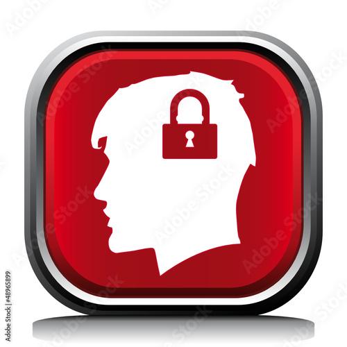 LOCK HEAD ICON