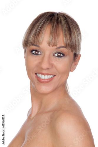 Portrait de modele féminin belle