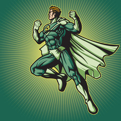 Recycle Hero 2 (with a cape)