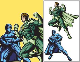 Eco Hero vs Dark Hero