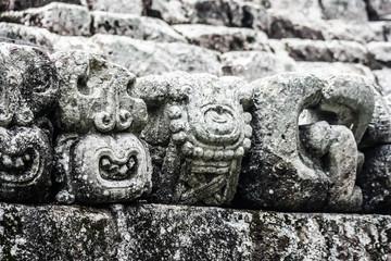 Temples in the Copan Ruinas, Honduras
