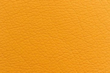 Bright Yellow Faux Leather Texture