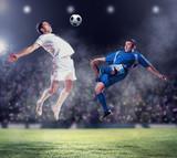 Fototapete Soccer - Sport - Mannschaft