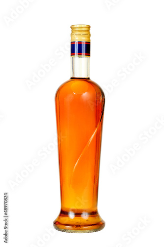 cognac  bottle.