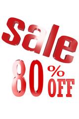 80 Percent Sale
