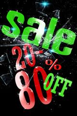 20-80 Percent Sale