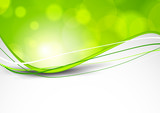 Abstract green background