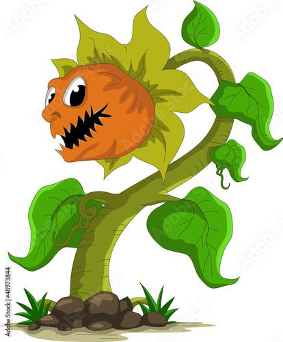 carnivorous plant cartoon