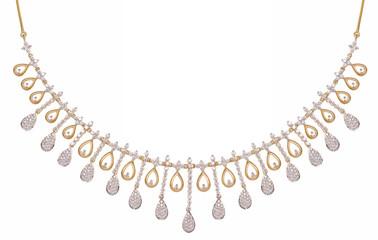 Fine diamond necklace, Rajasthan, India
