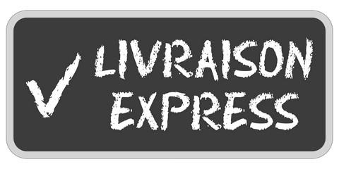 CB-Sticker TF eckig oc LIVRAISON EXPRESS