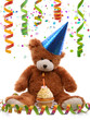 First birthday teddy bear