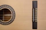 Classic Guitar Bridge, Saddle, String