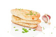 Luxurious naan bread.