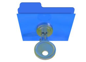 LOCK FOLDER WITH PASSWORD - 3D
