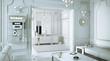 Klassical Salon in neutral white