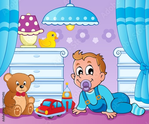 Baby room theme image 2