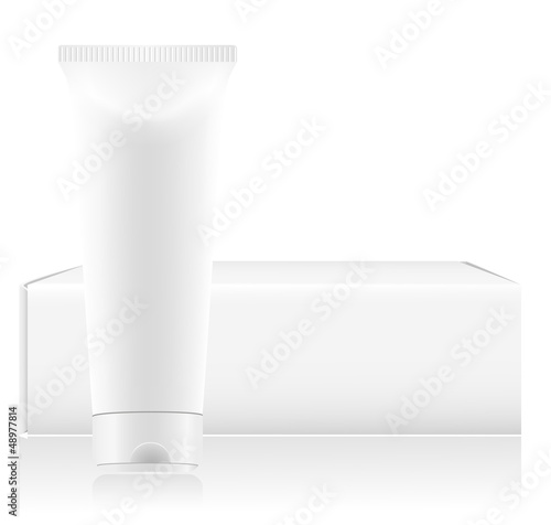 toothpaste vector illustration