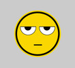 Displeased / Bored - SMILEY FACE