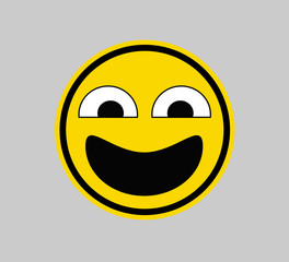 Open Mouth - SMILEY FACE