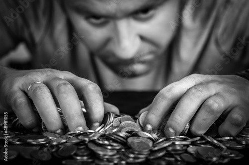 greedy man - 48981055