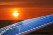 Sonnenuntergang Solar