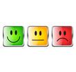 Smiley Set Quadratisch