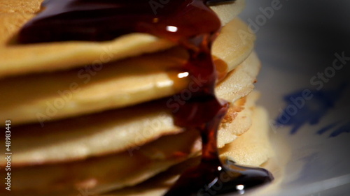 Pancakes Close-up