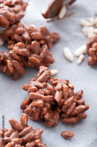 Puffed Rice Chocolate