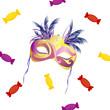 Karneval - Fasching - Maske