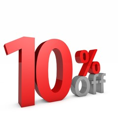 10 Percent off