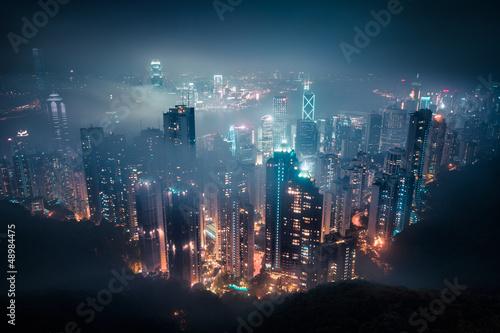 Deurstickers Aziatische Plekken Hong Kong