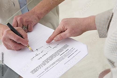 3em âge - Engagement signé