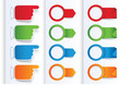 Set of Colorful Arrows and Design banners.
