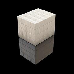 Würfelzucker Quader - 3D render