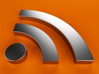 3d RSS symbol