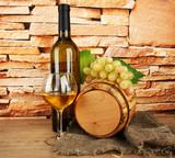 Fototapete Hintergrund - Alkohol - Obst