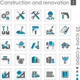 Constraction and renovation icons 1