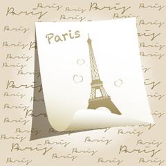 Post it Parigi