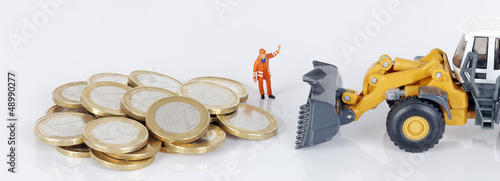 coins with loader