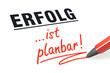 Stift- & Schriftserie: Erfolg ist planbar!