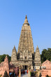 Mahabodhi temple, bodh gaya, India. The site where Gautam Buddha