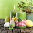 Easter time, candles