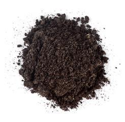 Pile of garden soil