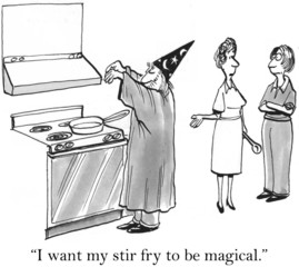 The recipe needed some magic from merlin