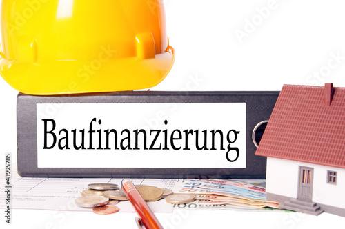 Aktenordner - Baufinanzierung
