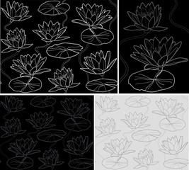 Pattern Waterlily