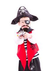 Pirat mit Bart