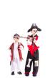 zwei Piraten auf Tour